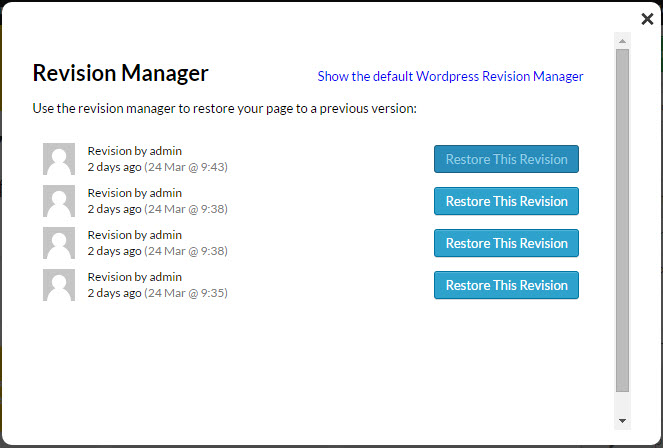 New Feature: Thrive Content Builder Revision Manager