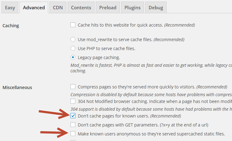 Landing Page Template Won't Load – WP Super Cache Conflict and Fix