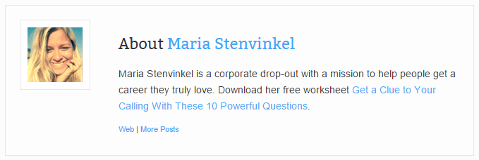 Marie Stenvinkel author box