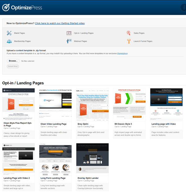 Thrive landing pages vs optimizepress 20 plugin comparison page optimizepress 20 template library maxwellsz