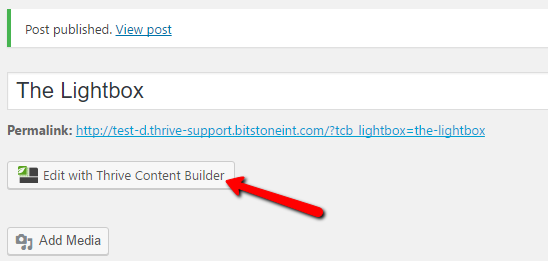You can edit the lightbox content any way you want, using all of the content elements in TCB. For the 2-step opt-in process, it's important that you add an ...