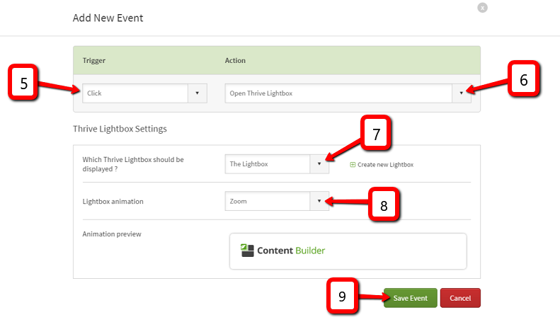 You now have successfully created a 2-step opt-in! Whenever a visitor clicks on the button, the opt-in lightbox will appear.