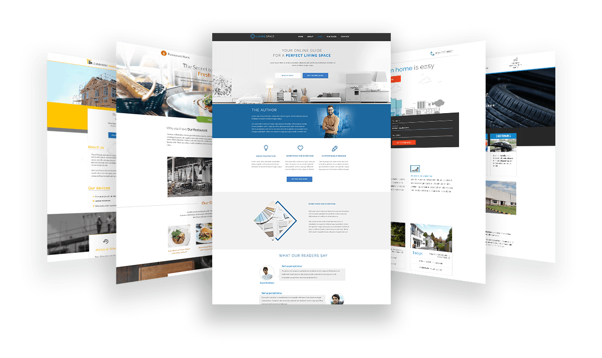 Thrive Architect landing pages