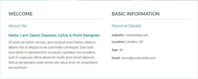 How To Create A Resume One Page Website