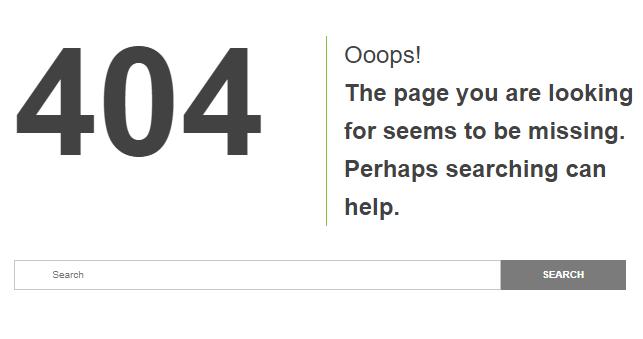 404 Error \u2013 Page Not Found when Using Thrive Architect
