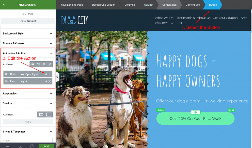 The Perfect Website Template for a Local Business