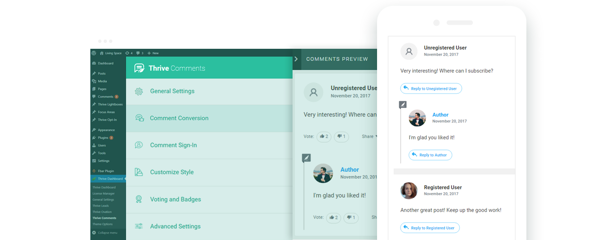 Thrive Comments - The Superior Comments Plugin for WordPress