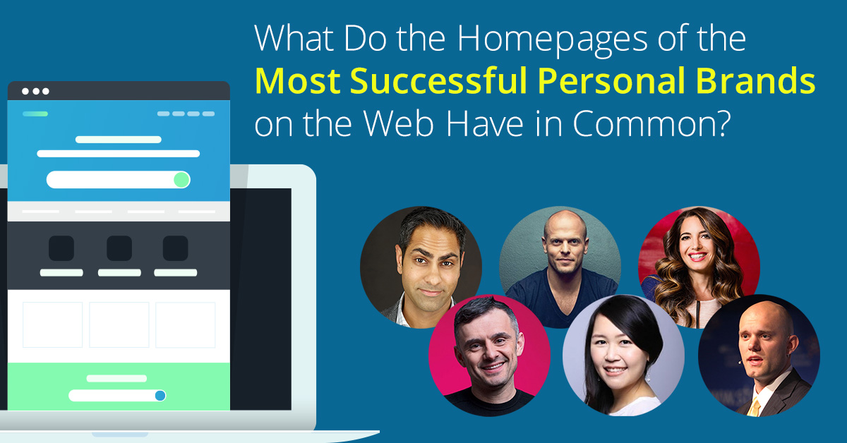 Homepage History: Examining the Best Personal Branding Homepages