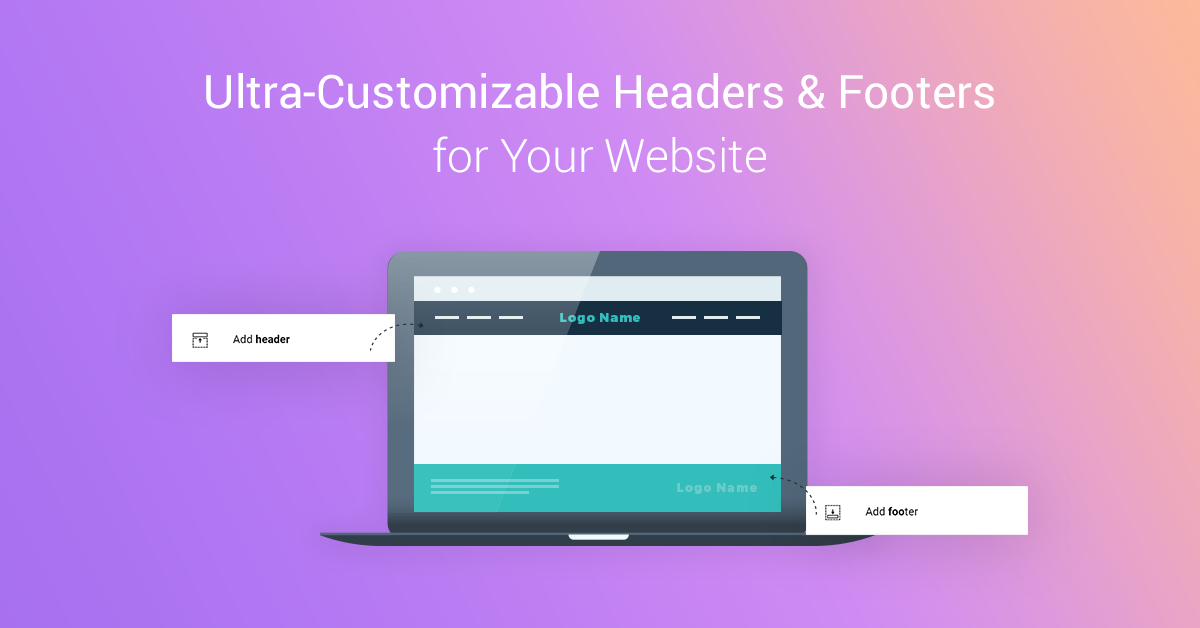 New in Thrive Architect: Headers & Footers for Your Landing Pages