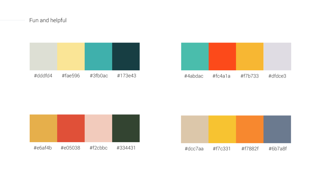 Fun and helpful color schemes