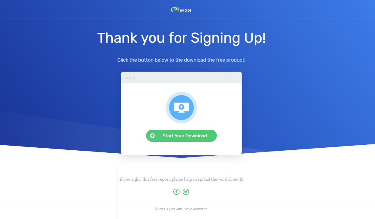 Create a Landing Page in WordPress with Thrive Themes
