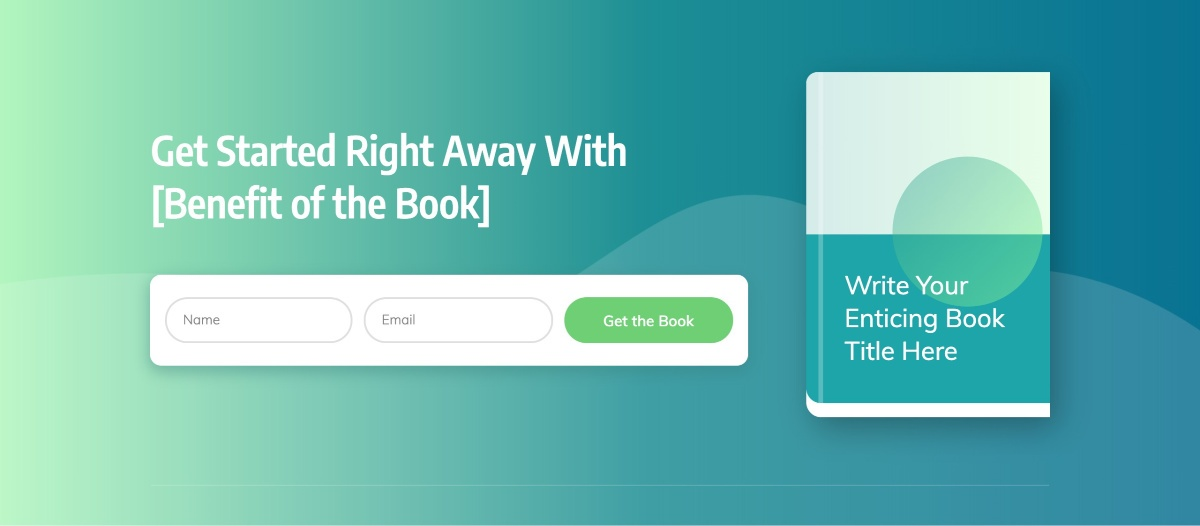 The Final Call to Opt-In Section of the Smart Ebook Lead Generation Page template.